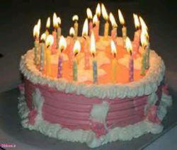 محدثه بدوووووووو /باید شمع ها رو فوت کنی /بعد افطار میخوریمیشون .تولد تولد تولدت مبارک @shohad