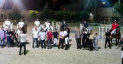 برگزاری مسابقات پرش بااسب درتهران
