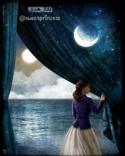 Sweet princess: شب فرصتی ست تا به رؤیاهایتان فکر کنید شاید صبحِ فردا محال ترین آرزویتان  براورده شود...