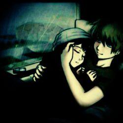 تپش قلبت رو احساس میکنم وقتی از شدت خستگی در اغوشم هستی لذت بخش است وقتی ارامش تو میبینم دوستت دارم عزیزم نوشتع از خودم