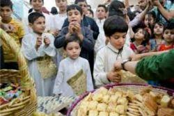 امشب پانزدهم ماه رمضون ،شب گرگیعان هست،یکی از رسوم خوزستانی ها و در واقع اعراب ،که بچه ها با شعر و دست زدن به در خونه ها میرن و صاحب خونه با شیرینی و تنقلات به اونا هدیه میده !