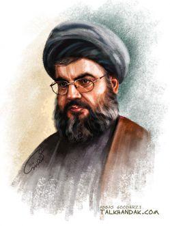 سید حسن نصرالله دبیرکل جنبش حزب الله لبنان