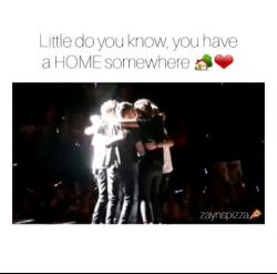 Don't forget where you belong :)