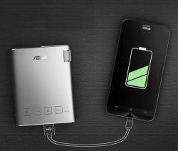 از پروژکتور Zenbeam ایسوس می توانید به عنوان پاوربانک هم استفاده کنید و دستگاه های هوشمند را شارژ کنید!  --- همراه ما باشید: http://www.aparat.com/asus - - - Telegram.me/ASUSOPIRAN