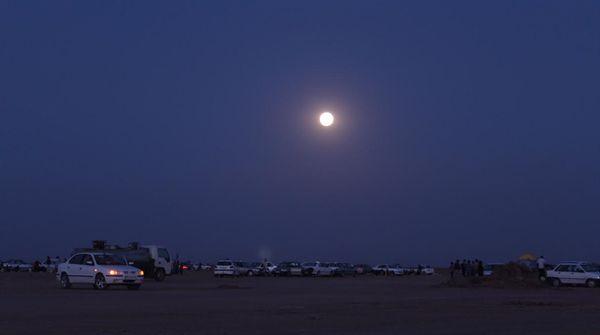 رصد ماه و ستاره در منطقه كفه نمكی شهرستان بردسكن در خراسان رضوی - 05 تیر 1395