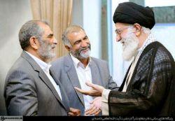 دیدار رهبر انقلاب با خانواده مرحوم حاج عبدالله والی