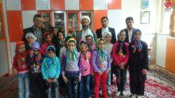دیدار دکتر ابراهیم خردکیش با کودکان مرکز توانبخشی فتح المبین (همدم_مشهد مقدس)