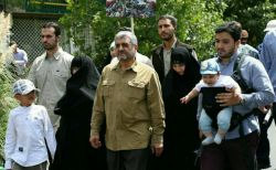 #راهپیمایی روز قدس #سردار جعفری همراه خانواده