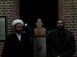 شهید مدافع حرم حامد کوچک زاده و دکتر ابراهیم خردکـیش