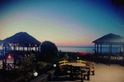 سکوت... آرامش... ساحل دریا... ساحل انزلی... وقت افطار...