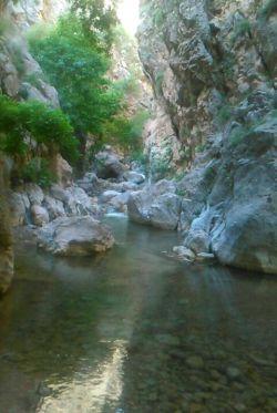 کرمانشاه-چهارچشمه زیبای شهرم صحنه