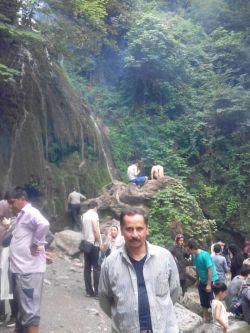 آبشار کبودوال ،علی آباد کتول