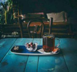 این چای رو خیلی وخته ریختم....ولی سرد شده.چون اونی ک صاحابش بود دلش سرد شد.
