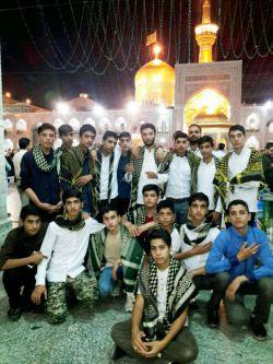 یه اردو فرهنگی ومذبی با اساتید ورفقای امام رضایی