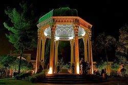 به شیراز آی و فیض روح قدسی بجوی از مردم صاحب کمالش ...حافظیه-شیراز