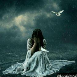 به تو فکر کردم...به تو آره آره... به تو فک کردم که بارون بباره... به تو فکر کردم... دوباره دوباره... به تو فکر کردن عجب حالی داره.....................