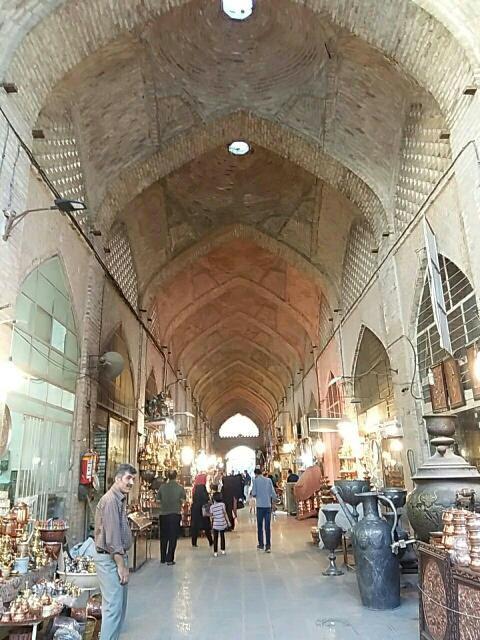 بازار مسگرها اصفهان