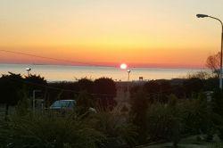 طلوع خورشید دریای انزلی
