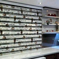 پرده های مدل زبرا ...مناسب برای آشپزخانه.... اتاق خواب..... پرده سرای گل واژه... ...66881698 ...09390516428  قبول سفارشات پرده از تهران وحومه....