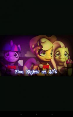 me and apple jack and fluttershy