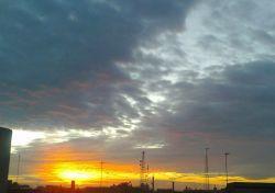طلوع زیبای خورشید