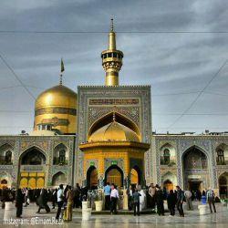 اسلام علیک یا علی بن موسی الرضا دوستان فردا عازم مشهد مقدسم حلال کنین...