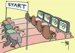 رژه المپیک 16مرداد ساعت 3:30دقیقه صبح کیا بیدار میشن دستا بالا؟؟؟؟؟