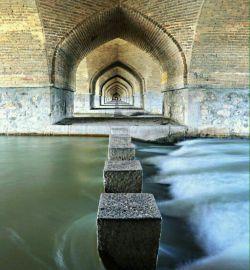 عکس زیبایی از اصفهان