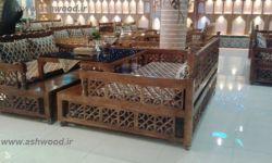 تخت سنتی گره چینی
