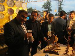 جشنواره فرهنگی هنری اقوام ایرانی وصنایع دستی در خمین افتتاح شد - 16 مرداد 1395 - #جشنواره_اقوام_ایرانی #خمین