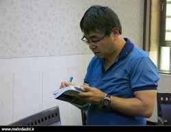 بازدید دکتر وفاداری و توریستهای ژاپنی از مهردشت
