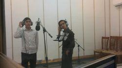 اعضای گروه سرود در حال ضبط سرودی زیبا...  خبری در راه هست...  تا آسمان راهی نیست...