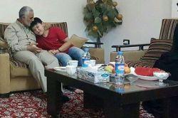 حاج قاسم سلیمانی :  حضور در  منزل یکی از خانواده های #لشکر_فاطمیون #مدافعان_حرم