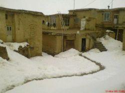 زمستان روستاییم...