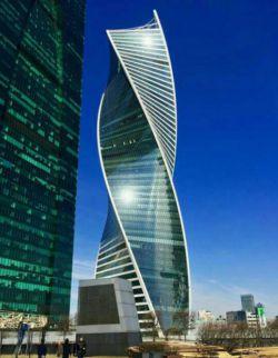 ساختمان بتنی -مسکو
