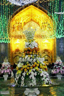 عید همه مبارک باشه. امشب دعامون کنین. السلام علیک یا ثامن الحجج.