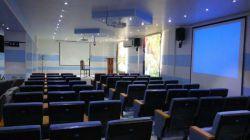 سیستم صوت، تصویر و نور سالن مرکز بهداشت و درمان بهمنی