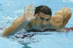 """مایکل فلپس: """"رونالدو دوست صمیمی منه ، ما یک بار باهم مسابقه شنا گذاشتیم که او ۳۰ متر رو زودتر از من تموم کرد ، شاید باورتون نشه اما این اتفاق افتاد."""" @soltan_ronaldo"""