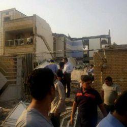 انفجار لوله گاز در اهواز بهارستان 6نفر کشته و 4 نفر زخمی