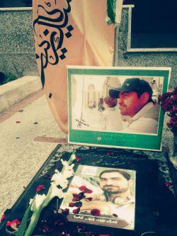 مزار شهید هادی باغبانی مدافع حرم