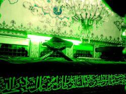 درون ضریح امام زاده ابراهیم(ع) بابلسر  دوربین موبایل