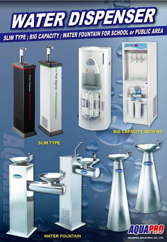"""دستگاه تصفیه """"آب+آب سردکن+آب جوش"""" مناسب محیط های اداری و کارخانجات و محیط های عمومی ساخت AquaPro"""