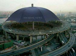 بزرگترین چتر جهان، چین