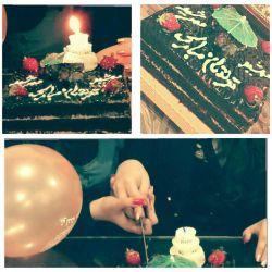 حس قشنگیه *^▁^* که همیشه و همه جا با همیم  حتی موقع فوت کردن شمع >o< بریدن کیک تولد ♥♥ بازکردن کادوهامون 0^◇^0)\