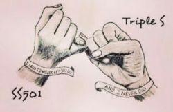 ss501 & tripleS forever