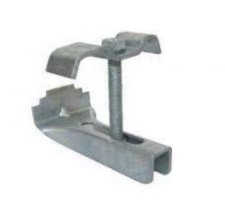 نمونه ای از یک بست گریتینگ با روکش گالوانیزه برای بالا بردن مقاومت آن در شرایط جوی و رطوبت.