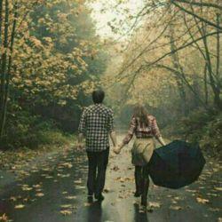 خدای من: من  از آسمان یک باران میخواهم... از زمین یک خیابان....وازعشقم ...یک دست که قفل شود در دست من..  چه حس نابیست عاشقانه های زیر بارانرا درجاده ای بی انتها  با اومرور کردن...