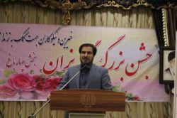 علیمحمدی محقق ستاد دیه استان و از فعالان برگزای جشن گلریزان ستاد