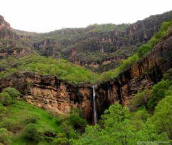 آبشار خورخور منطقه محافظت شده مرخیل -باینگان کرمانشاه