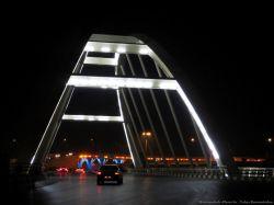 پل فلزی لب آب کرمانشاه